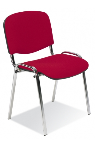 ISO Chrome Upholstered Chair