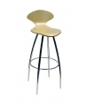 Athens Chrome Bar Stool