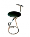 Dena Chrome Bar Stool
